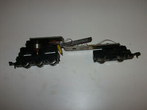 Hornby Dublo Co Bo Deltic 2 rail locomotove chassis in working order or spares