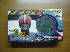 BANDAI Candy Toy O Medal 2 KAMEN RIDER OOO #11 KAMEN RIDER BLACK TOEI Japan