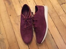 214870852a3 COLE HAAN 2.ZEROGRAND LASER WING SUEDE OXFORD WOMENS SHOES W08217 NEW SIZE  9.5