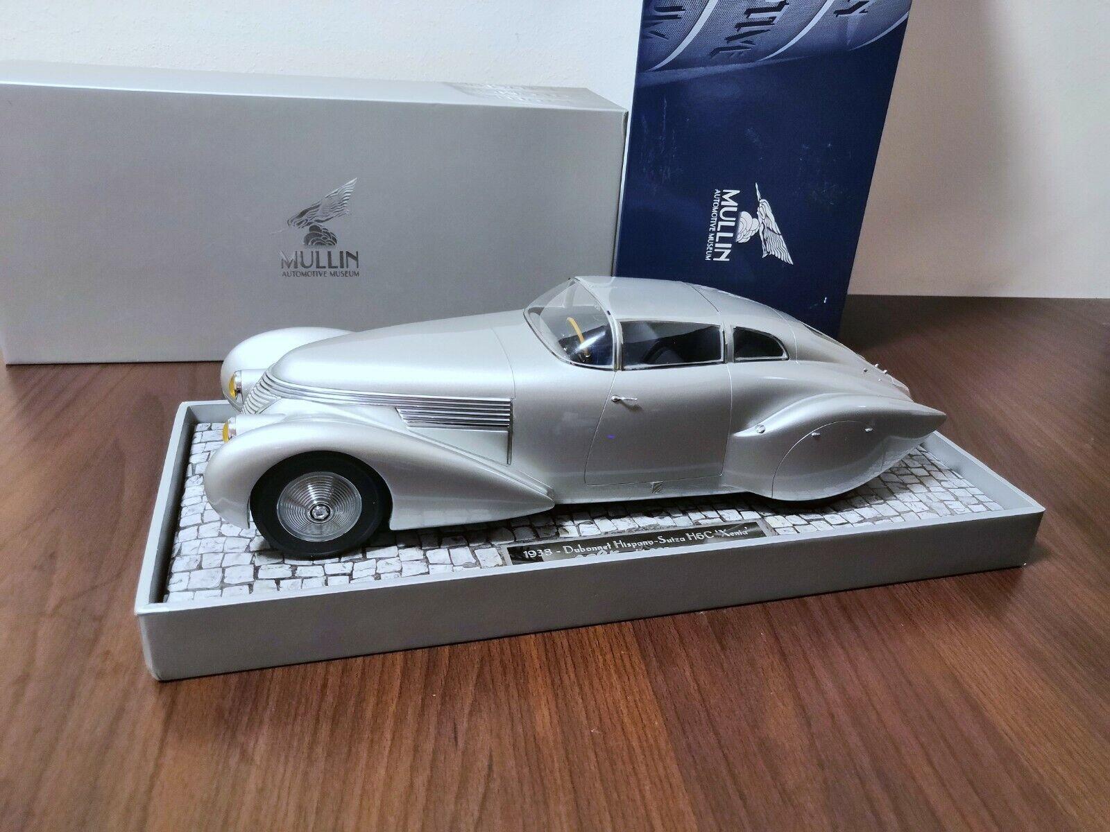 Dubonnet Hispano Suiza H6C Xenia 1 18 Minichamps 1 1008 OVP