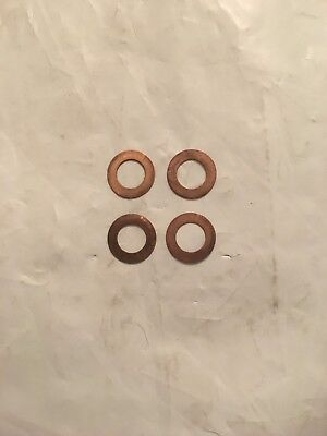 4 Copper Washers Bushings for Leatherman Wave Surge Charge Replacement Or Mod