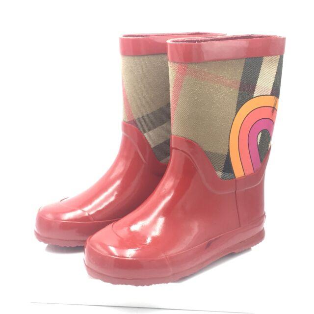 Burberry Kids Ranmoor Rainbow Military