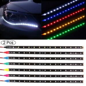5050 Waterproof LED Strip Light 12V Car Caravan White Blue Green Warm White 5M