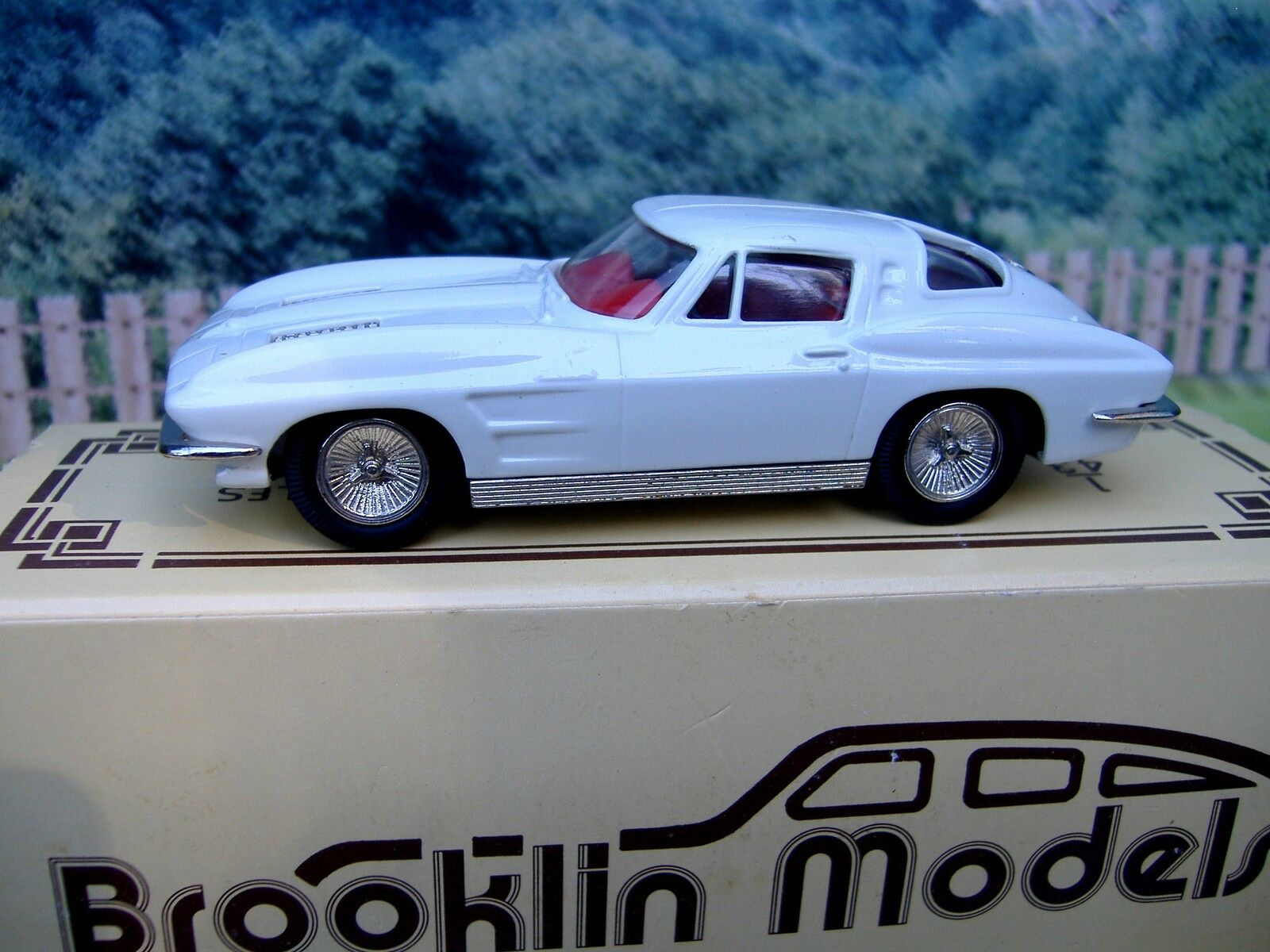 1/43 Brooklin models  Chevrolet corvette 1963