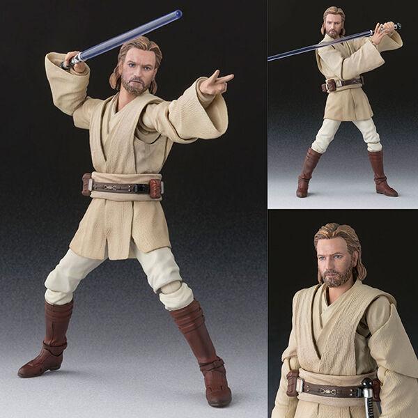 S.H.Figuarts Obi-Wan Kenobi Star Wars Episode II Attack of the Clones Bandai JPN