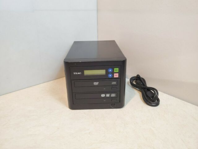 Teac 1x1 Dvd Duplicator Dvw D11 Tested Working For Sale Online Ebay