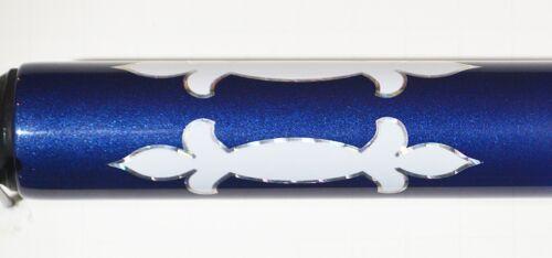 custom Blue Graphite  Cuestick New 2 pc Pool Cue High quality Billiards