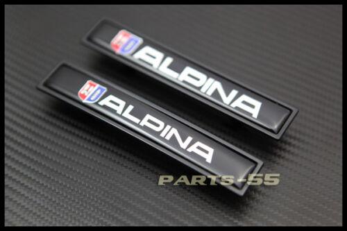 NEW BLACK ALPINA SIDE DOOR DECAL BADGES EMBLEM FOR BMW M3 M5 E36 E39 E46