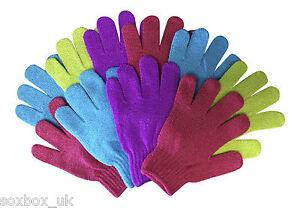 3-amp-10-Pack-Bellezza-Scrub-Esfoliante-LUSSO-Guanti-vari-colori-disponibili