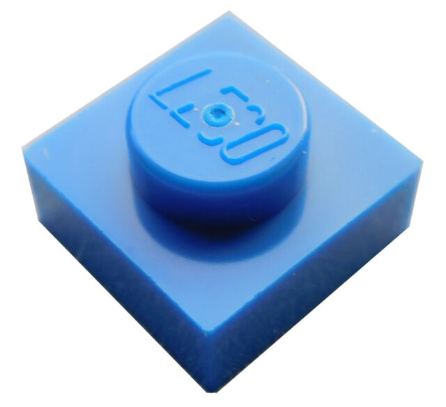 Lego® 5 x Platte 1x6 dunkelblau *NEU* 3666