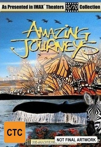 Imax - Amazing Journeys (DVD, 2002)