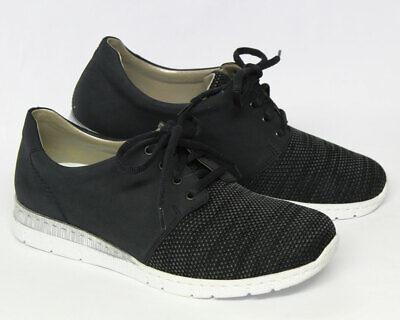 Rieker Damen Sneaker schwarz N5321 00