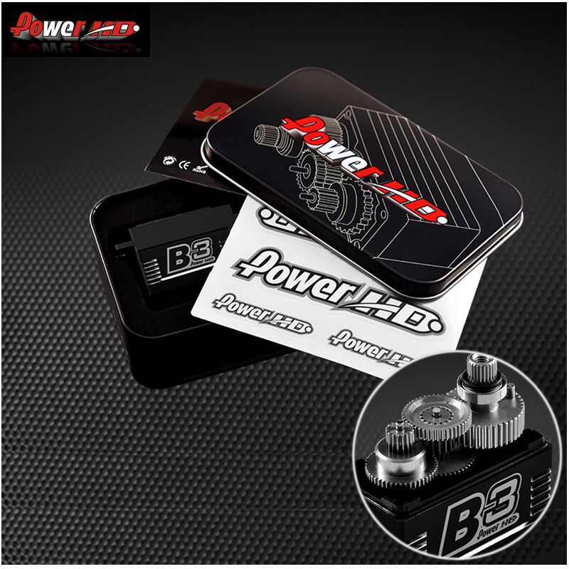 Power HD B3 30kg 7.4V Brushless Digital Servo with Metal Gears and Double Bearin