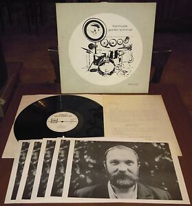 LP-GUNTER-SOMMER-Hormusik-Free-Music-Prod-80-GER-avant-jazz-letter-photos-NM