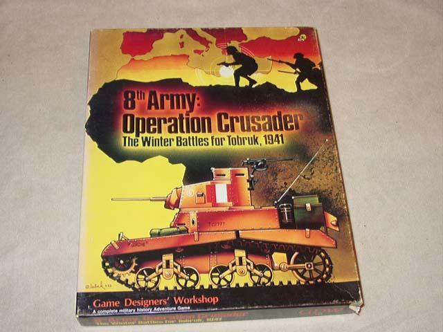 GDW - 8th Army  Operation Crusader - Winter  Battles for Tobruk, 1941 (UNPUNCHED)  nessun minimo