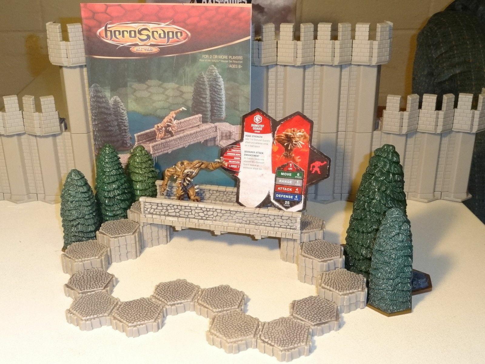 comprar descuentos Heroscape-camino al conjunto de expansión de bosque bosque bosque olvidado - 100% Completo  más vendido