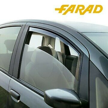 Kit 2 Deflettori d'Aria Antivento Antiturbo Farad Fiat 500 Cinquecento dal 2007