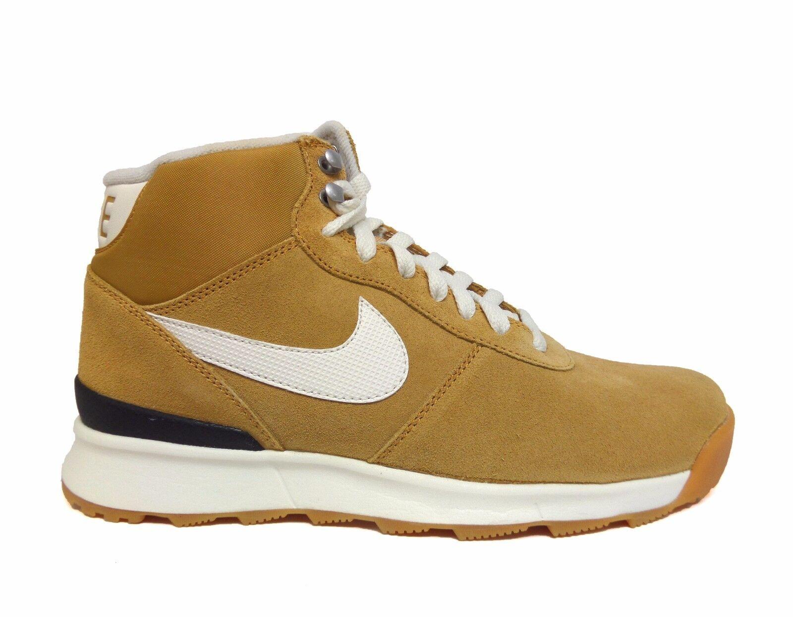 Nike Women's ACORRA SUEDE Sneakerboots Haystack/Light Brown 806977-710 a1