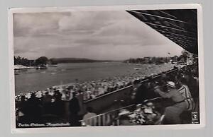 1936 Germany Olympics Reich Stadium view Postcard Cover RPPC Olympics cancel