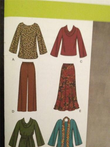 Simplicity Sewing Pattern 3568 Misses Ladies Top Pants and Skirt Size 10-18 UC