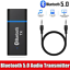 thumbnail 2 - USB-Bluetooth-5-0-Transmitter-3-5mm-AUX-Audio-Adapter-for-Headphones-Speaker-TV