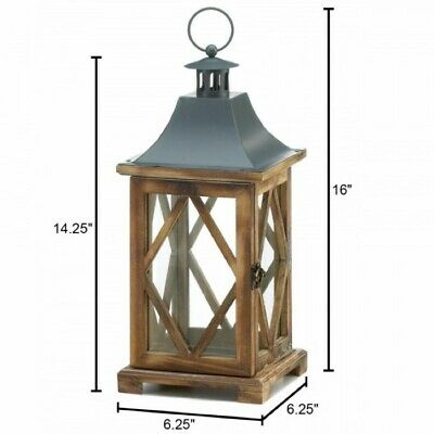 Saturn Centerpiece Candle Lantern w// Fine Lines