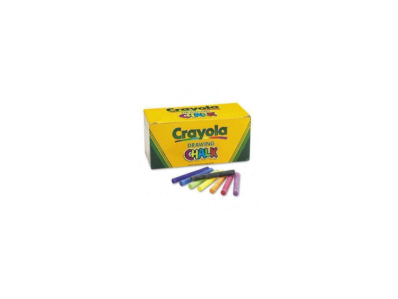 CYO510400 Crayola Colored Drawing Chalk