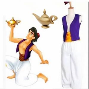 Arabian Prince Aladdin Costume Mens Bollywood Aladdin Fancy Dress Adults Outfit