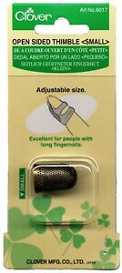 Clover Open Sides Thimble - 2 sizes available