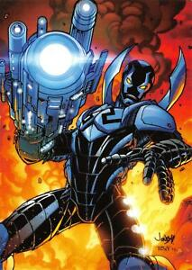 BLUE-BEETLE-DC-Comics-The-New-52-Cryptozoic-2012-BASE-Trading-Card-11