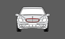Mercedes E-Class Facelift (W211) 06-09 Bumper Stone chip Protection guard film