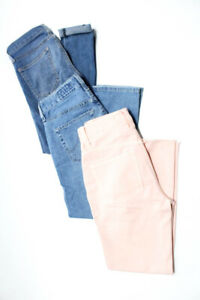 AG-Current-Elliott-Madewell-Womens-Jeans-Slim-Light-Wash-Pink-Size-23-Lot-3