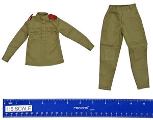 Alert Line Figures Side Cap w// Emblem 1//6 Scale Female Soviet Sniper AL00020