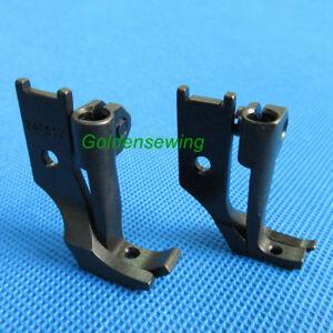 2-Sets-Left-amp-Right-Zipper-Pieds-Pour-highlead-GC0618-1SC-marche-pied