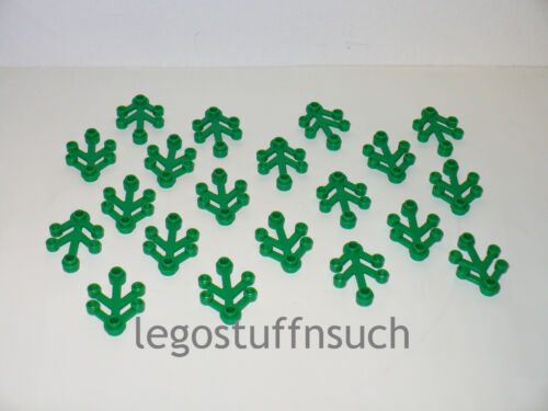 NEW LEGO Small Green 4 x 3 Tree Leaf Branch limb Forest town castle market wood