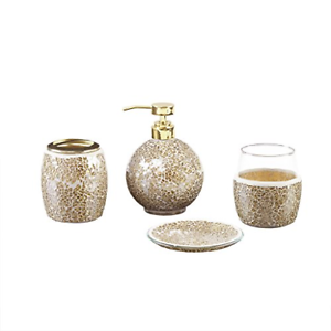 Mosaic Bathroom Accessories Set 4