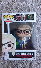 Funko Pop Suicide Squad Dr. Harleen Quinzel Exclusive Harley Quinn Box Not Mint