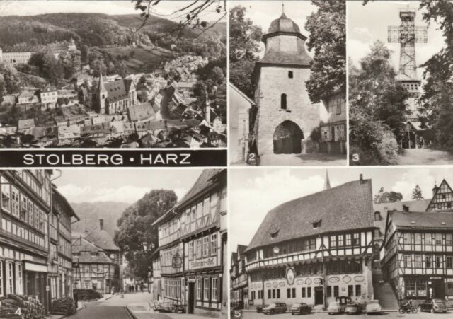Stolberg / Harz , Ansichtskarte, gelaufen