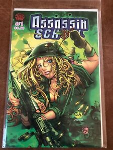 Assassin-School-1-High-Grade-Comic-Book-A7-209