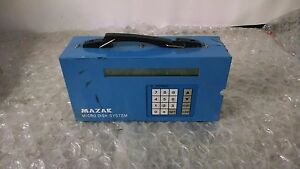 MAZAK Micro Disk System Program Transfer 94101 WA AS IS FOR