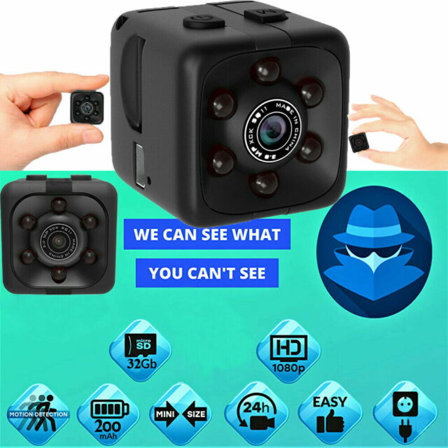 HD 1080P Mini Spy Camera IP Security Camcorder Night Vision DVR