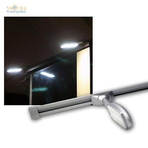 LED-Roof-Mounted-Recessed-Light-on-Power-Rail-4-x-14-LEDs-12V-DC-Kitchen