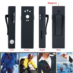 720/1080P HD Mini DV Hidden Pocket Camera Wearable Camcorder Audio Recorder 21g