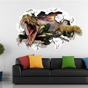 Good Das Bild Wird Geladen Wandtattoo Wandsticker Wandbild Kinderzimmer  Dinosaurier Grueslig 3D NEU