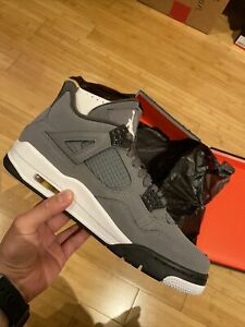 Air Jordan 4 Cool Grey Size 9.5 2019