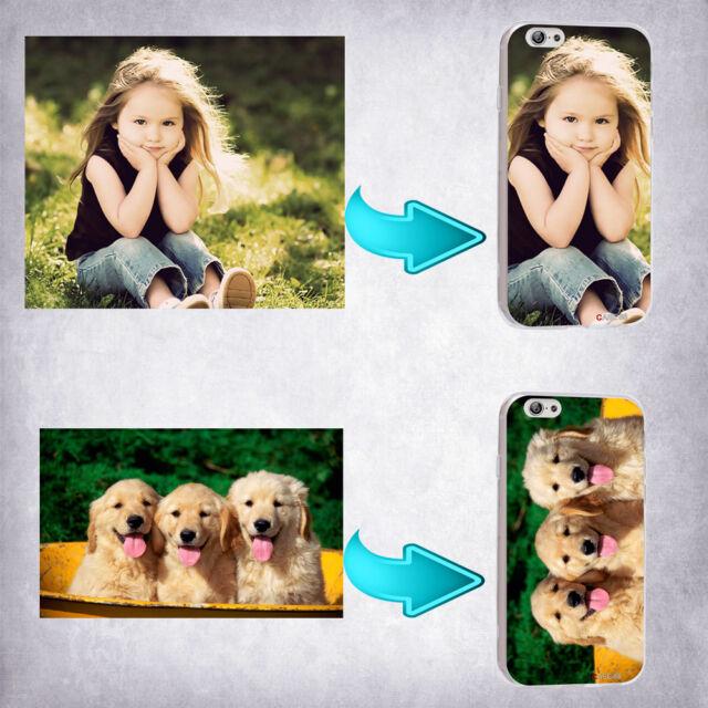Custom Made Customized Personalized Photo DIY Soft TPU Phone Case Cover Model A
