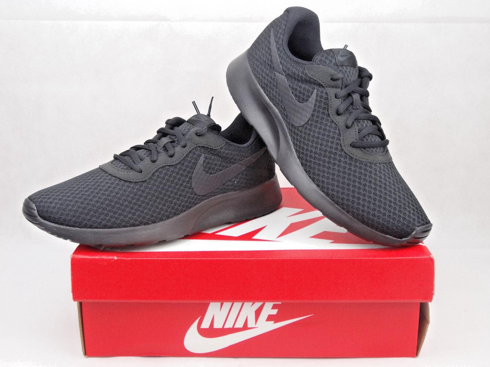 Descuento de la marca Nike Tanjun Entrenadores Hombres Zapatos Talla Uk 9.5/EU 44.5 Negro