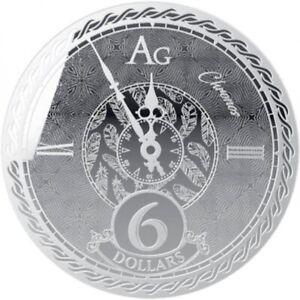 TOKELAU-5-Dollars-Argent-1-Once-Chronos-2020