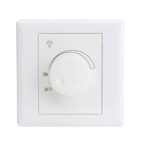 Variateur de lumière LED pour un éclairage dimmable blanc 3W à 250W 240V L7