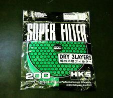HKS 200mm Filter Replacement - Green 70001-AK022